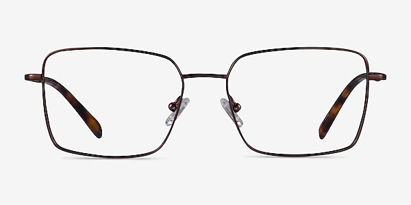 Caspian Coffee Titanium Eyeglass Frames