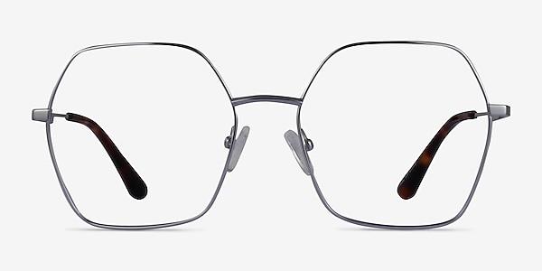 Elixir Silver Titanium Eyeglass Frames
