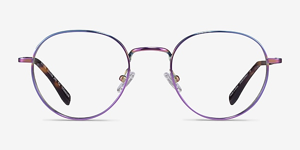 Antone Rainbow Titanium Eyeglass Frames