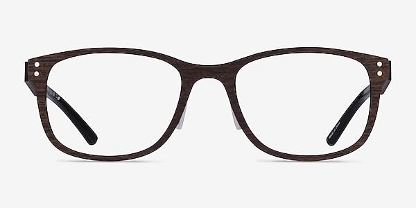 Earth Boisée Wood-texture Montures de lunettes de vue