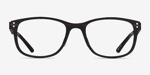 Earth Dark Wood Wood-texture Montures de lunettes de vue