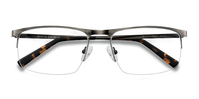 Gunmetal Silver Wayne -  Metal Eyeglasses