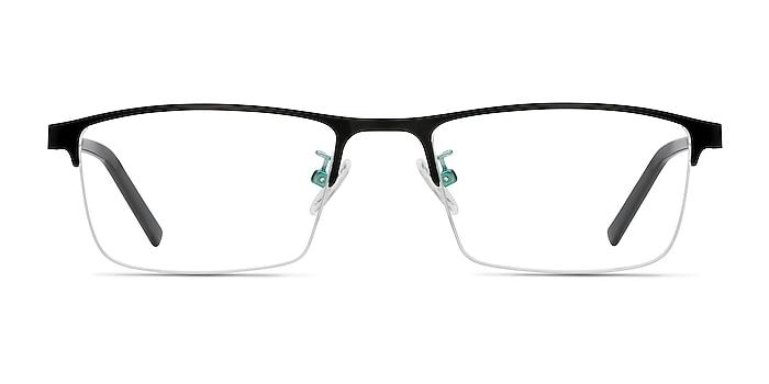 Algorithm Noir Métal Montures de lunettes de vue d'EyeBuyDirect
