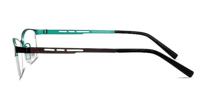 Pearl Noir Métal Montures de lunettes de vue d'EyeBuyDirect