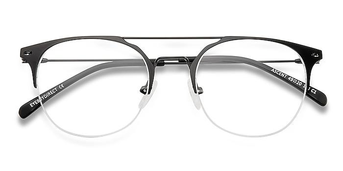 Black Ascent -  Lightweight Metal Eyeglasses