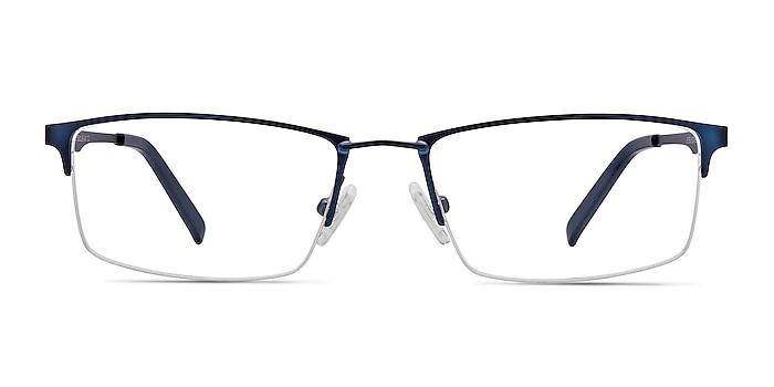 Furox Bleu marine  Métal Montures de lunettes de vue d'EyeBuyDirect