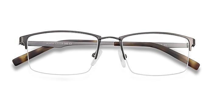 Gunmetal Furox -  Lightweight Metal Eyeglasses