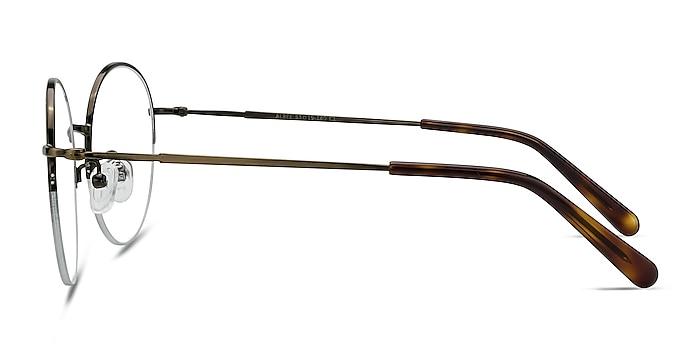 Albee Bronze Metal Eyeglass Frames from EyeBuyDirect