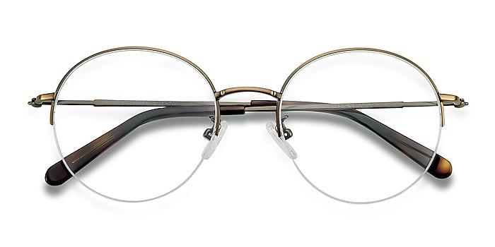 Bronze Albee -  Vintage Metal Eyeglasses