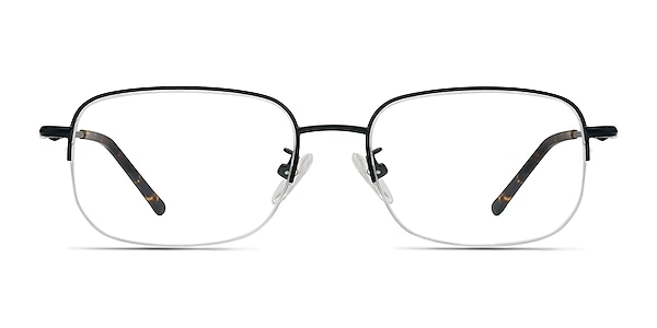 Munroe Black Metal Eyeglass Frames