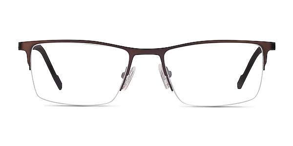 Variable Brown Metal Eyeglass Frames