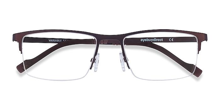 Brown Variable -  Lightweight Metal Eyeglasses