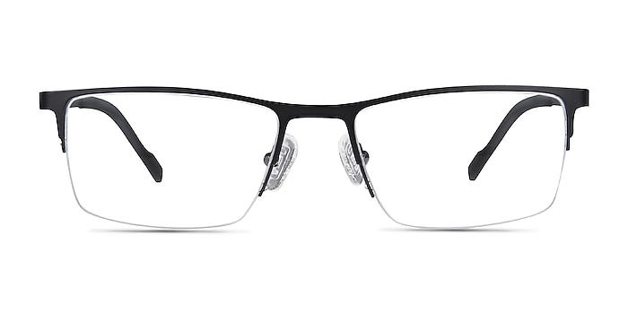 Variable Black Metal Eyeglass Frames from EyeBuyDirect