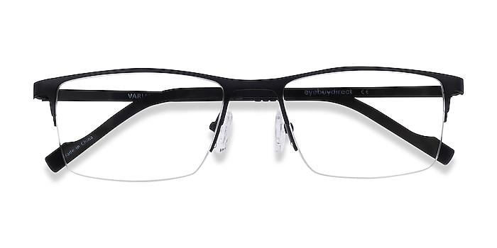 Black Variable -  Lightweight Metal Eyeglasses
