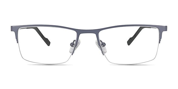 Variable Gray Metal Eyeglass Frames from EyeBuyDirect