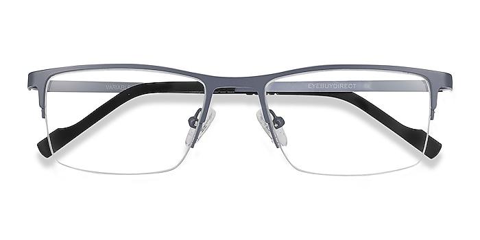 Gray Variable -  Lightweight Metal Eyeglasses