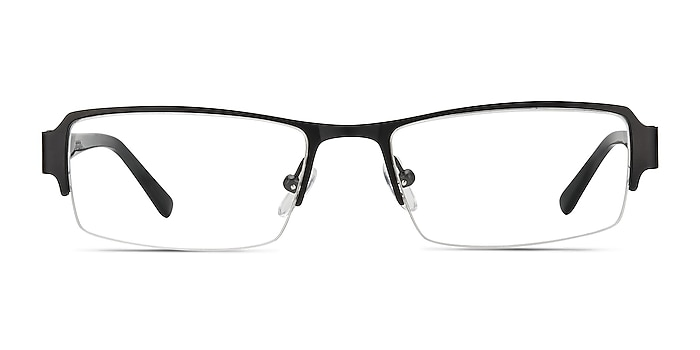 Vela Black Metal Eyeglass Frames from EyeBuyDirect