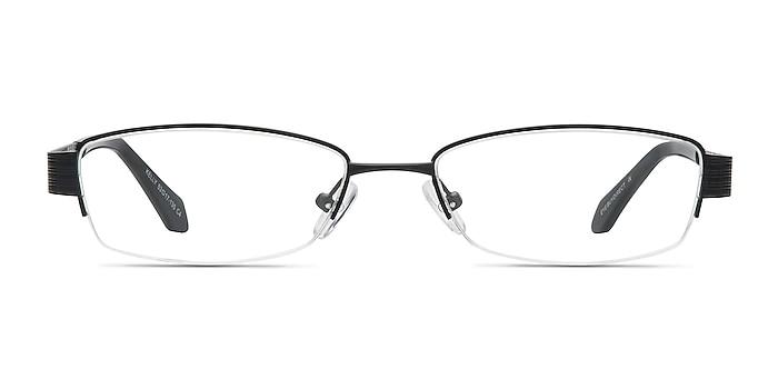 Kelly Black Metal Eyeglass Frames from EyeBuyDirect