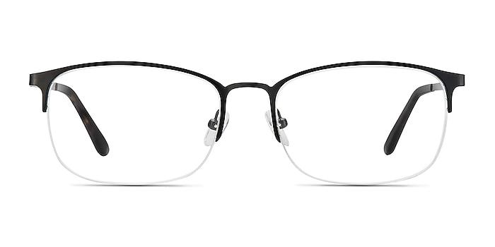 Paradox Black Metal Eyeglass Frames from EyeBuyDirect