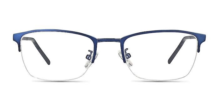 Argil Matte Navy Métal Montures de lunettes de vue d'EyeBuyDirect