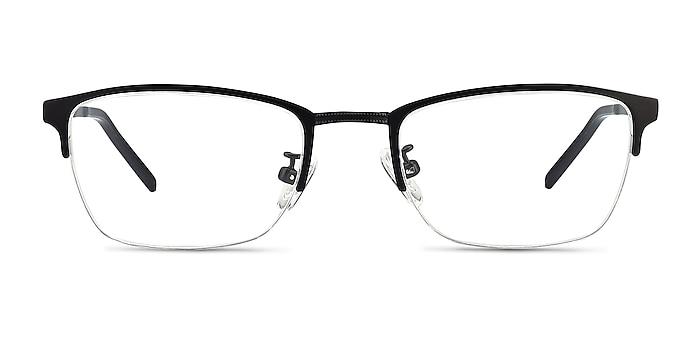 Argil Matte Black  Métal Montures de lunettes de vue d'EyeBuyDirect