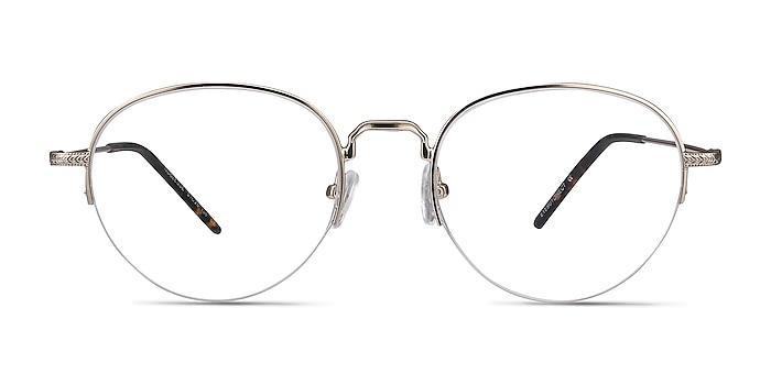 Noblesse Golden Metal Eyeglass Frames from EyeBuyDirect