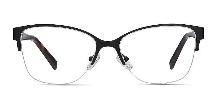 Feline Black Acetate-metal Eyeglass Frames from EyeBuyDirect