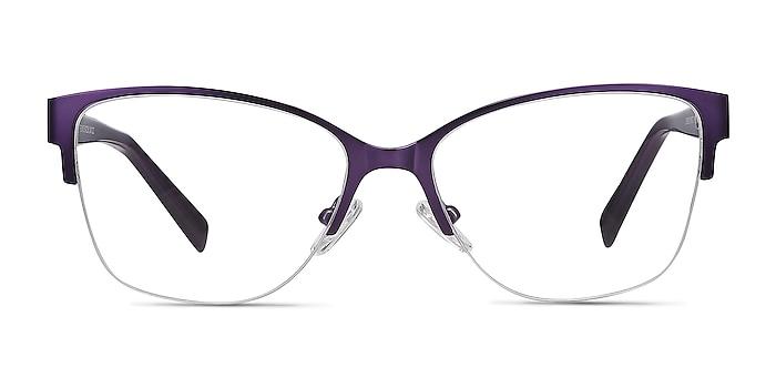 Feline Purple Acetate-metal Eyeglass Frames from EyeBuyDirect