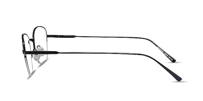 Navigator Black Metal Eyeglass Frames from EyeBuyDirect