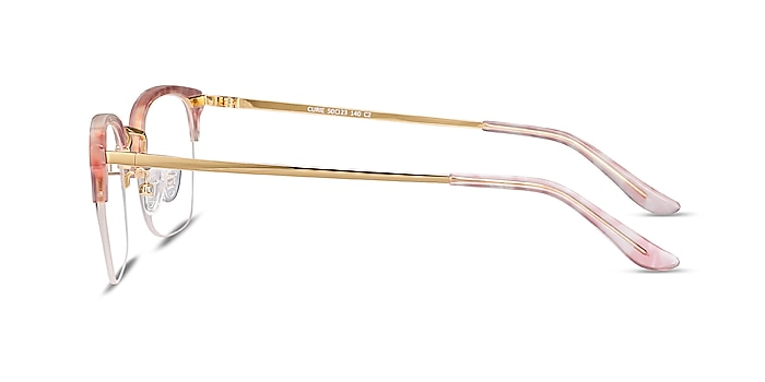 Curie Pink Acetate-metal Eyeglass Frames from EyeBuyDirect