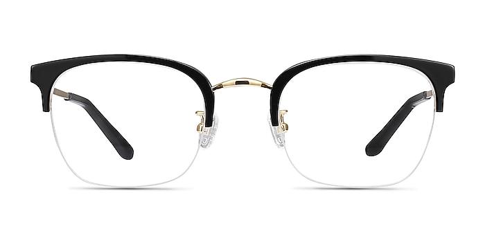 Curie Noir Acetate-metal Montures de lunettes de vue d'EyeBuyDirect