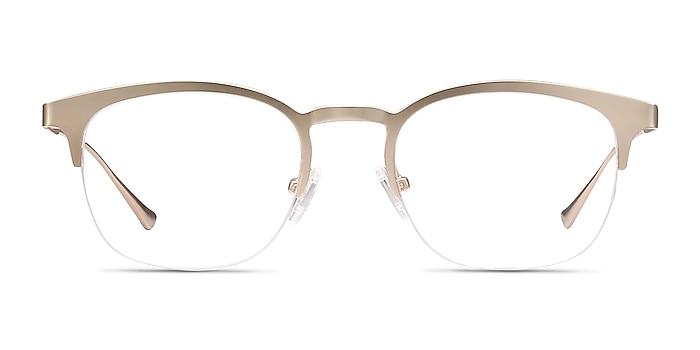 Hemisphere Rose Gold Metal Eyeglass Frames from EyeBuyDirect