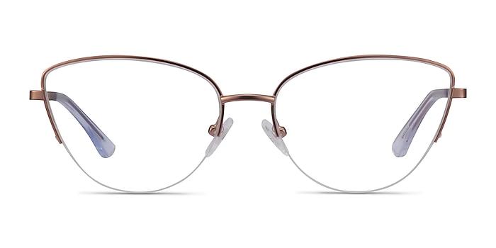 Star Rose Gold Metal Eyeglass Frames from EyeBuyDirect