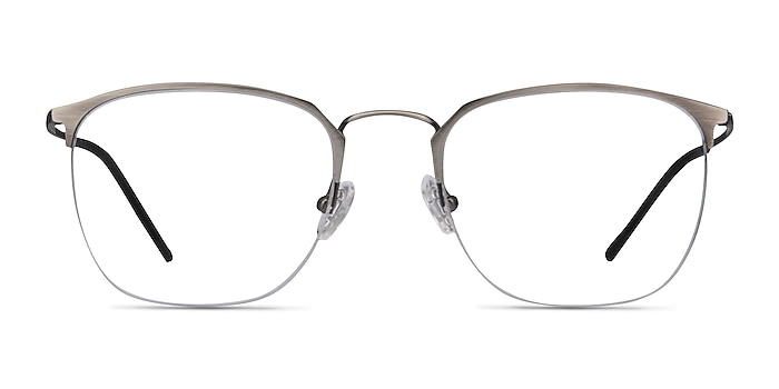 Urban Gunmetal Metal Eyeglass Frames from EyeBuyDirect