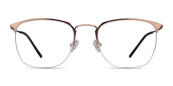 Urban Rose Gold Metal Eyeglass Frames