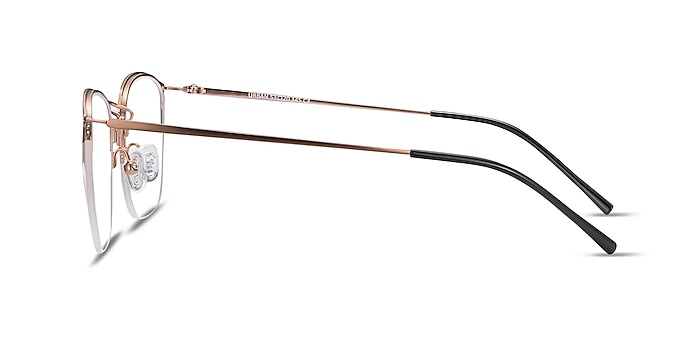 Urban Rose Gold Metal Eyeglass Frames from EyeBuyDirect