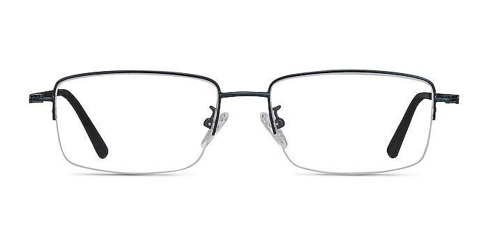 Studio Navy Metal Eyeglass Frames from EyeBuyDirect