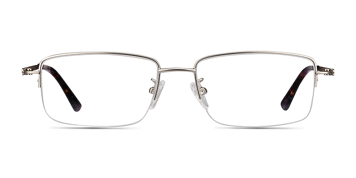 Studio Silver Metal Eyeglass Frames from EyeBuyDirect
