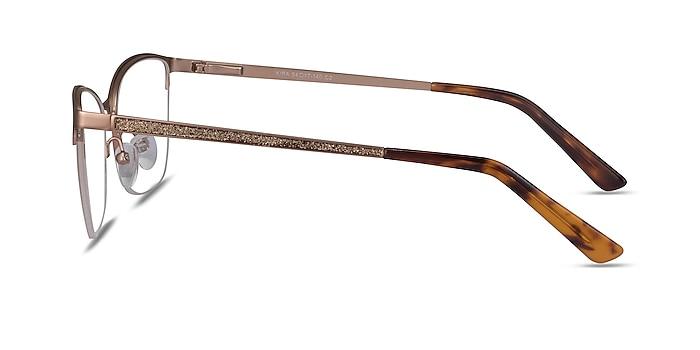 Kira Rose Gold Metal Eyeglass Frames from EyeBuyDirect