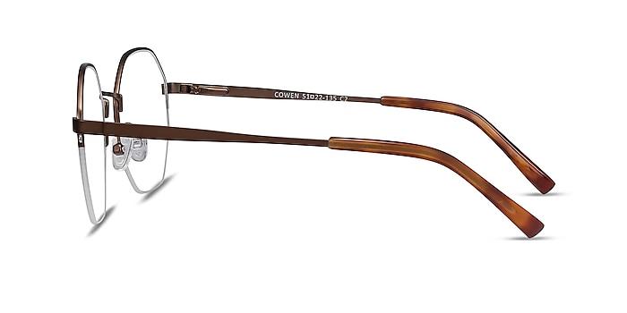 Cowen Bronze Metal Eyeglass Frames from EyeBuyDirect