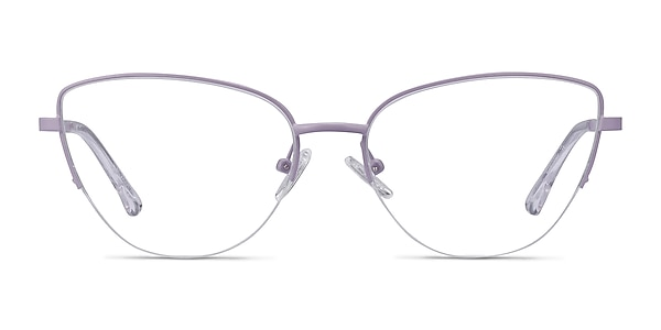 Star Lavender Metal Eyeglass Frames