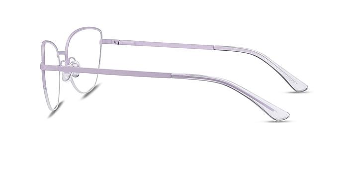 Star Lavender Metal Eyeglass Frames from EyeBuyDirect