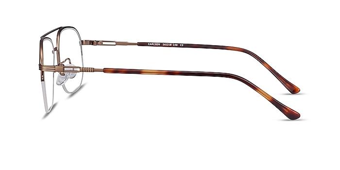 Carlson Bronze Acetate-metal Montures de lunettes de vue d'EyeBuyDirect
