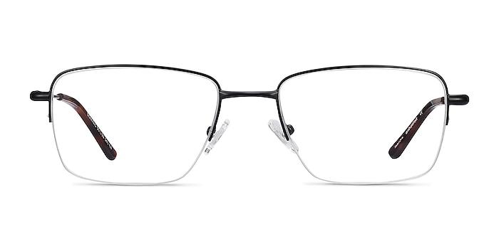 Dominic Black Metal Eyeglass Frames from EyeBuyDirect