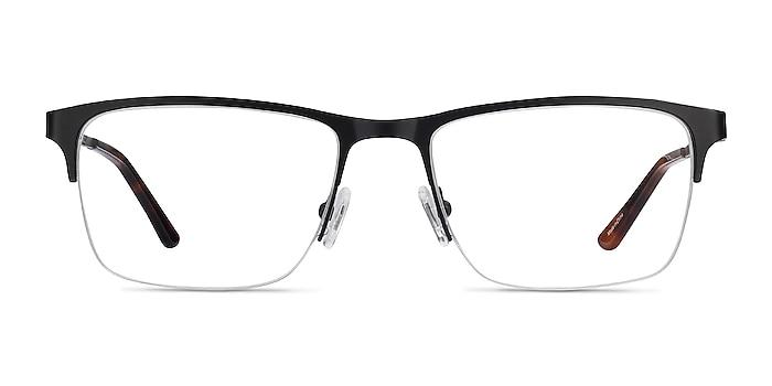 Jasper Noir Métal Montures de lunettes de vue d'EyeBuyDirect