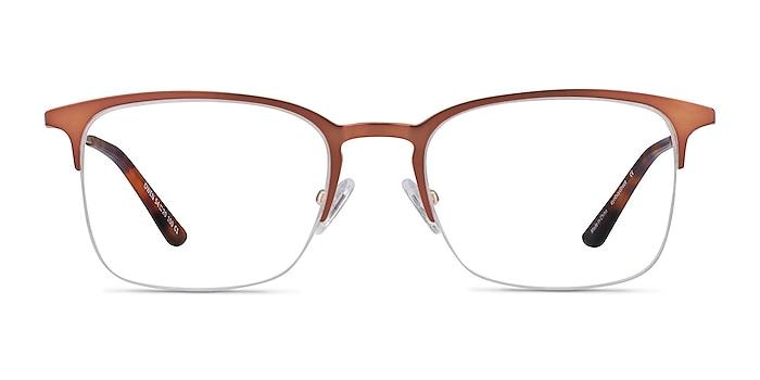 Owen Coffee Metal Eyeglass Frames from EyeBuyDirect