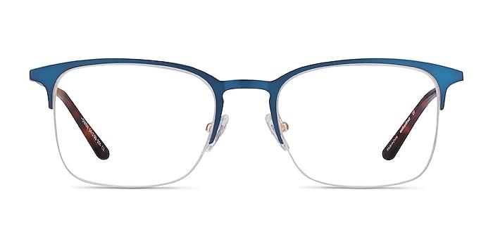 Owen Navy Metal Eyeglass Frames from EyeBuyDirect