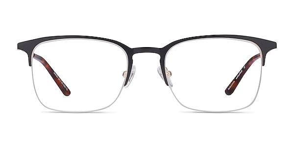 Owen Black Metal Eyeglass Frames