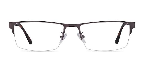 Travis Gunmetal Metal Eyeglass Frames