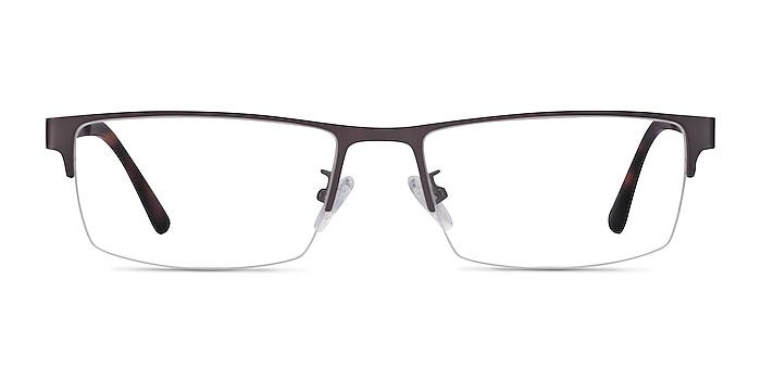 Travis Gunmetal Métal Montures de lunettes de vue d'EyeBuyDirect